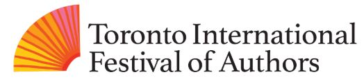 Toronto International Festival of Authors logo